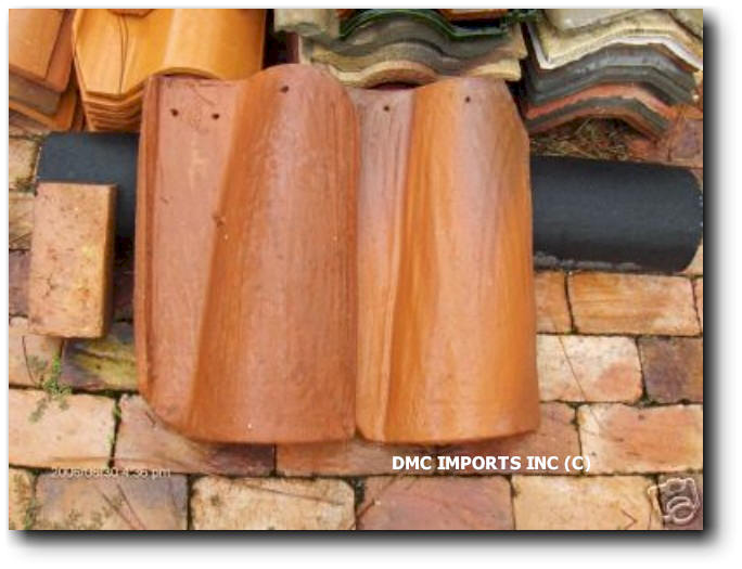 HANDMADE SPANISH CLAY BARREL TILE - Clay coping tiles prices