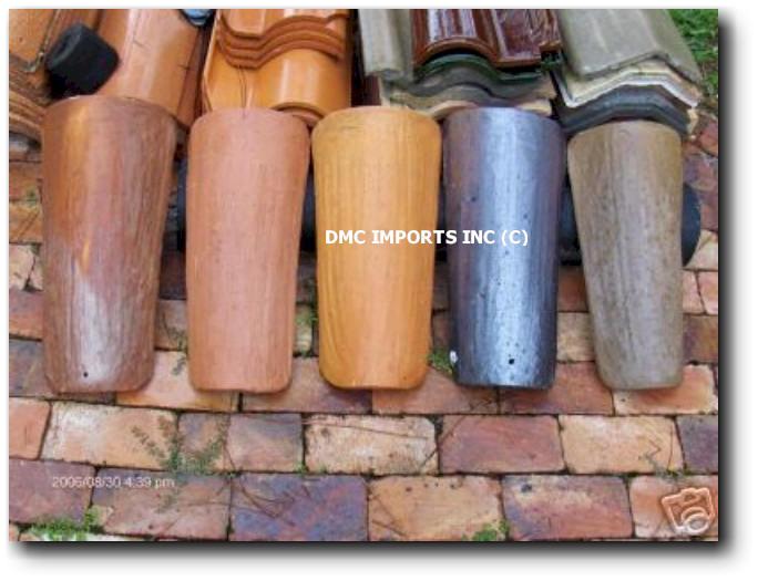 Handmade Spanish Clay Barrel Tile