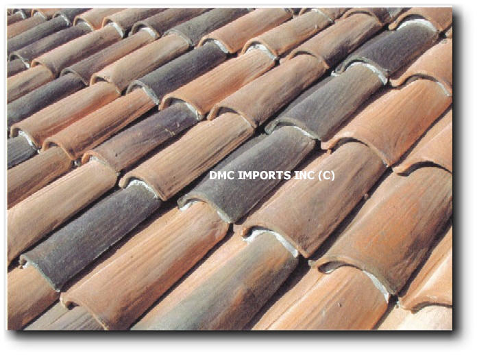 Handmade spanish clay barrel tile Spanish clay tile